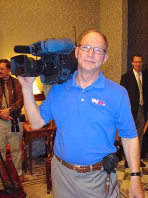 Photo of Stephen Hooker, WIS TV Photographer