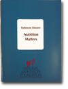 Book cover - Parkinson Disease Nutrition Matters