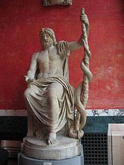 Greek god of medicine - Asclepius
