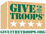 Give To The Troops Logo